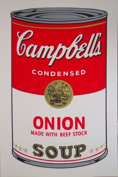 Andy Warhol, 'Campbell's Soup I: Onion (FS II.47)', 1968