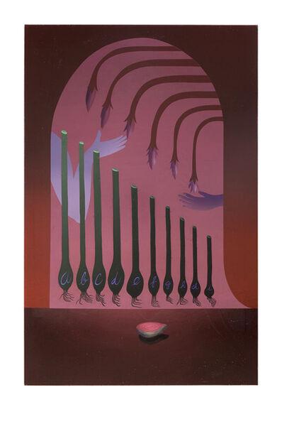 Igor Hosnedl, 'Alphabet still life'