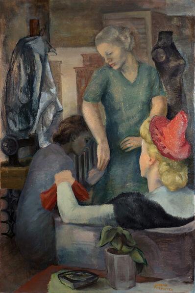 Lorena Phemister, 'The Seamstress', ca. 1945