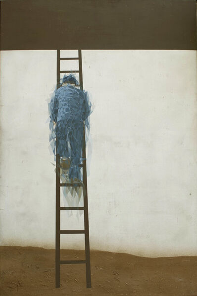 Maurice Douard, 'Man with ladder', 1998