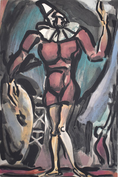 Georges Rouault, 'Clown with the Big Chest, from: Circus | Le Clown à La Grosse Caisse: Cirque', 1930