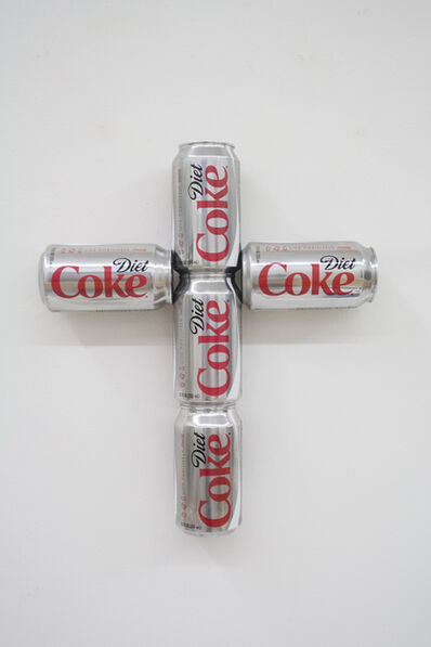 Tony Tasset, 'Coke Can Cross', 2009