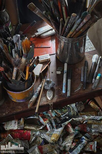 Den Marino, 'Artist Implements'