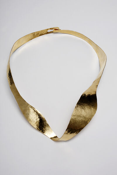 """Jacques Jarrige, 'Necklace gold plated """"Halo"""" by Jacques Jarrige', 2015"""