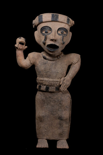 Unknown Pre-Columbian, 'Remojadas Weeping Figure', 600-900