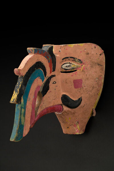 Unknown Artist, 'Veracruz, El Marodo Azteca mask, Dance of the Conquest', mid 20th C.