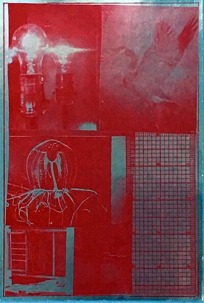 Robert Rauschenberg, 'Robert Rauschenberg at Leo Castelli ', 1977