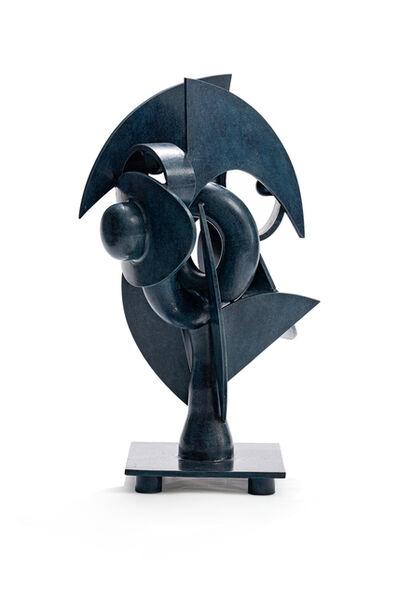 Edoardo Villa, 'Blue Abstract Form', 2001