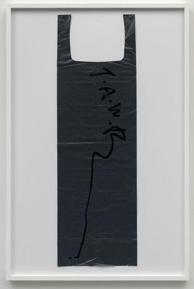 Matias Faldbakken, 'Untitled (Garbage Bag Grey #1)', 2010