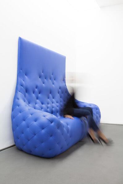 Robert Stadler, 'Monochromes Sofa (Blue)', 2011