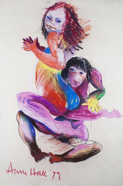 Anne Marie Marie Hall, 'Dancing Lovers', 1977