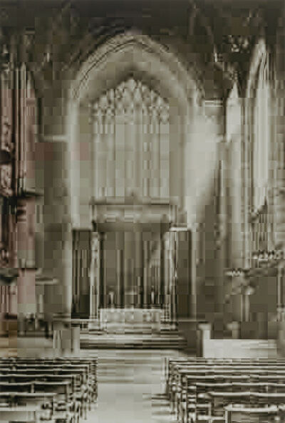 Thomas Ruff, 'JPEGS (Cathedral)', 2006