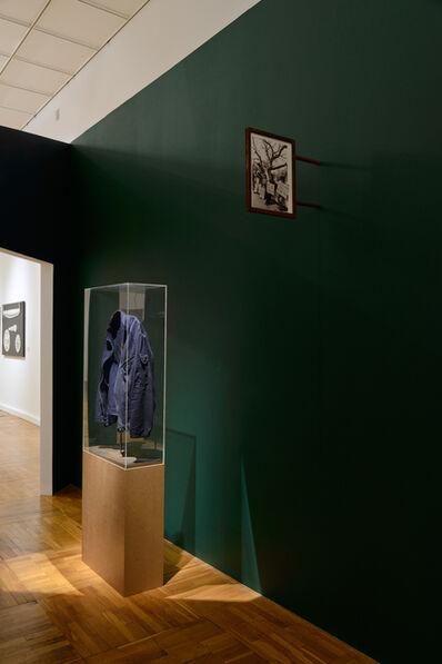 Anna Titova, 'Showcase with Burned Through Military Jacket (jacket of the artist)', 2013