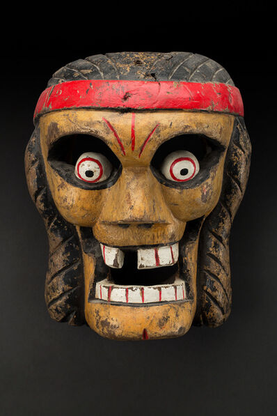 Unknown Artist, 'Veracruz, Naolinco Calavera mask Maskmaker: Lino Mora Rivera ', 1970s