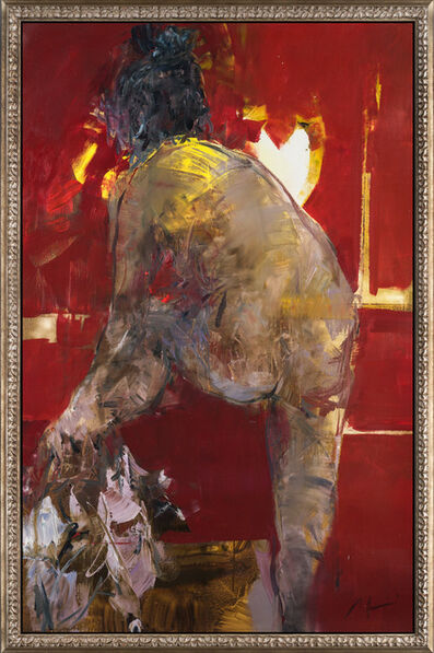 Alina Maksimenko, 'Red Curtains 2'