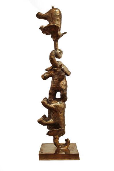 Philippe Berry, 'Éléphants en équilibre', 2015