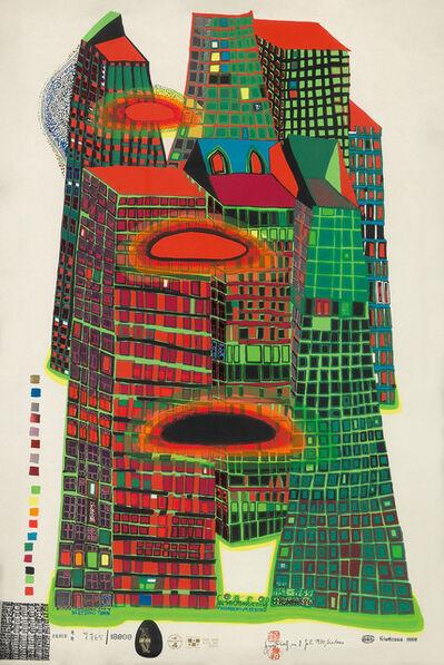 Friedensreich Hundertwasser, 'Good Morning City', 1969