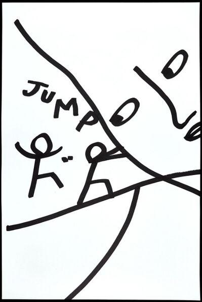 Shantell Martin, 'Jump', 2014