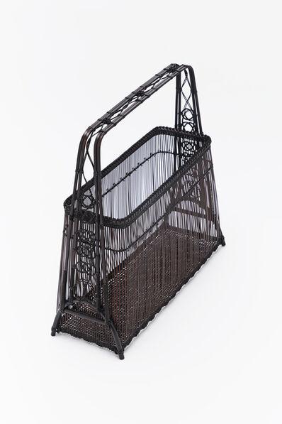 Tanabe Chikuunasai IV, 'Pure Waterfall, Decorative knot Flower basket 20 0423', 2020