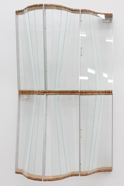 Julian Hoeber, 'Curtain Wall Widow #2', 2016