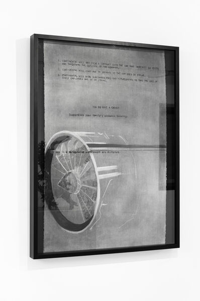 Maren Henson, 'Engine Letter', 2019