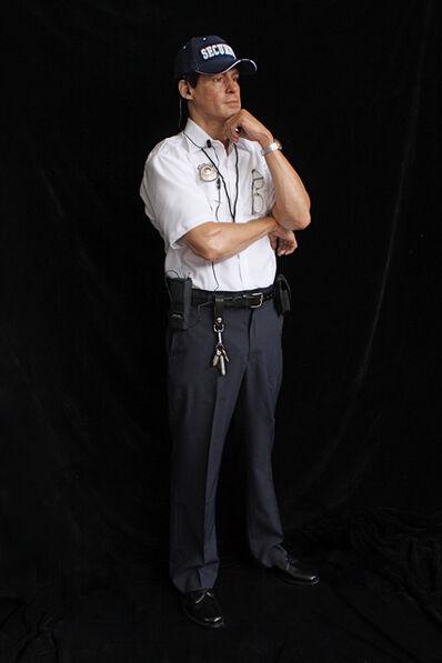 Marc Sijan, 'Standing Security Guard (MS)', 2018