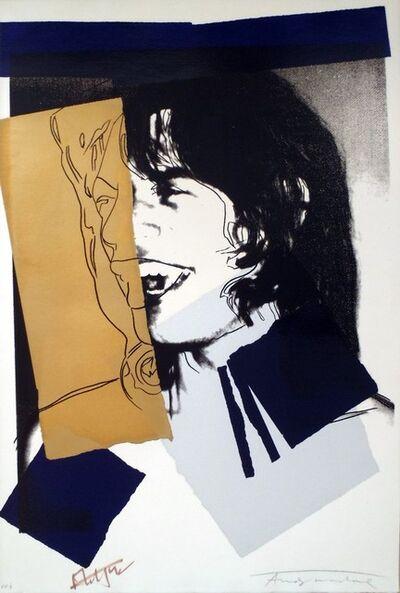 Andy Warhol, 'Mick Jagger (FS II. 142)', 1975