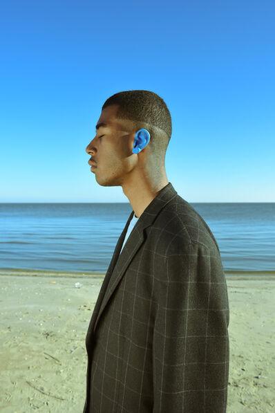 Trenity Thomas, 'Blue Left Ear', 2020