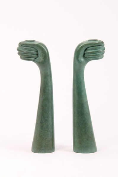 Judy Kensley McKie, 'Helping Hands Candlesticks', 2009