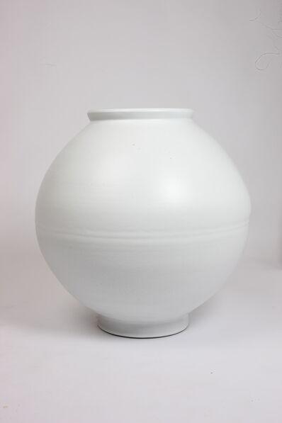 Mun Pyung, 'Snow-Clad Moon Jar', 2020