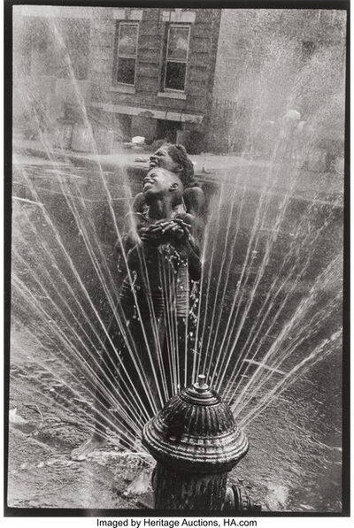 Leonard Freed, 'Hydrant, Harlem, NY', 1963