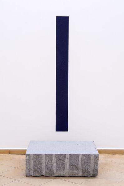 Giovanni Anselmo, 'Il panorama, fin verso oltremare', 1979-2017