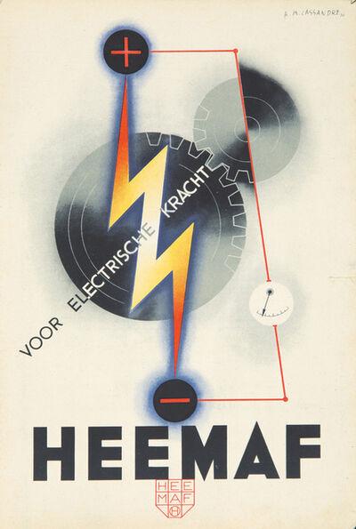 A.M. Cassandre, 'Heemaf', 1930