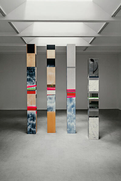 Isa Genzken, 'A,B,C,D', 2002-2003