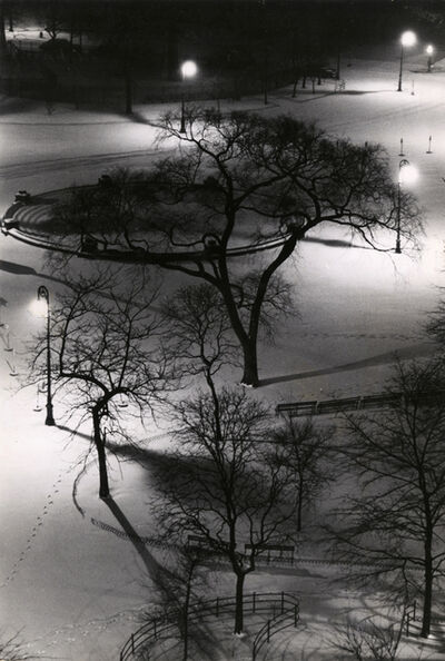 André Kertész, 'Washington Square at Night', 1954