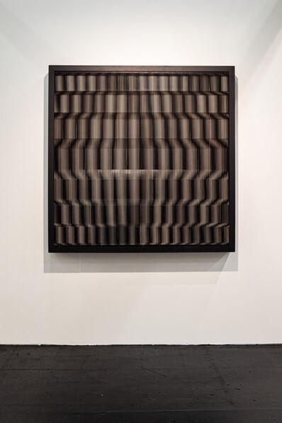 Ludwig Wilding, 'STI 150/3 (Stereoskopisches Gummibandobjekt)', 1976