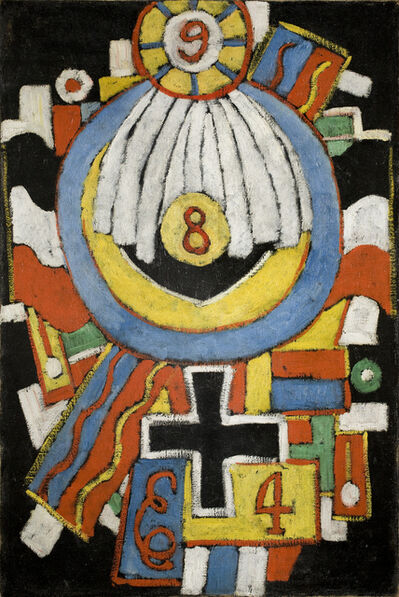 Marsden Hartley, 'Portrait', ca. 1914