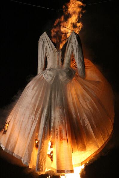 Adriana Marmorek, 'Relic #17 III - Wedding Gown 2', 2016