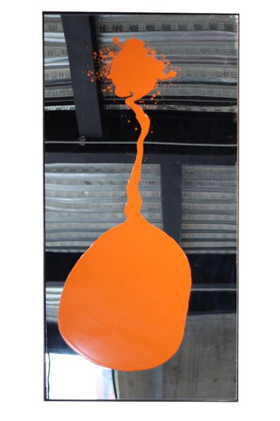 Ray Smith, 'Orange Mirror', 2018