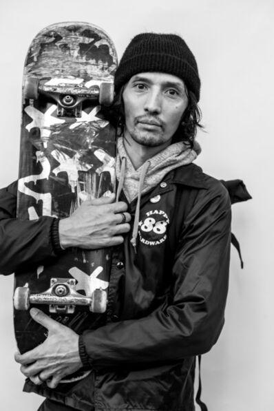 Clarence K, 'PJ, LES Skate Park', 2018