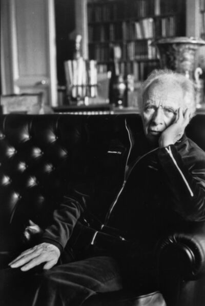 Henri Cartier-Bresson, 'Louis Aragon', printed later