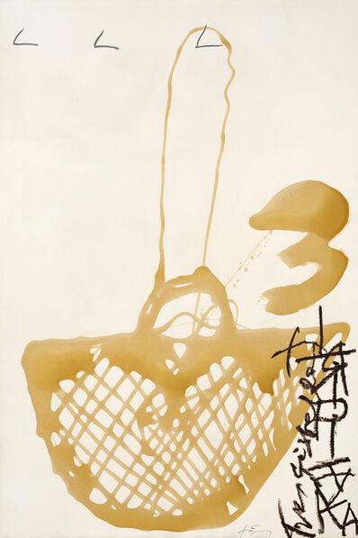 Antoni Tàpies, 'Cistella de vernis', 1997