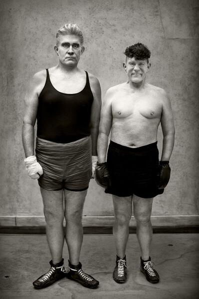 Sandro Miller, 'August Sander - Boxers (1929)', 2017