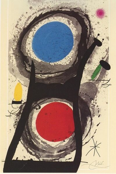 Joan Miró, 'The worshiper of the sun. 1969 Numbered and signed', 1969