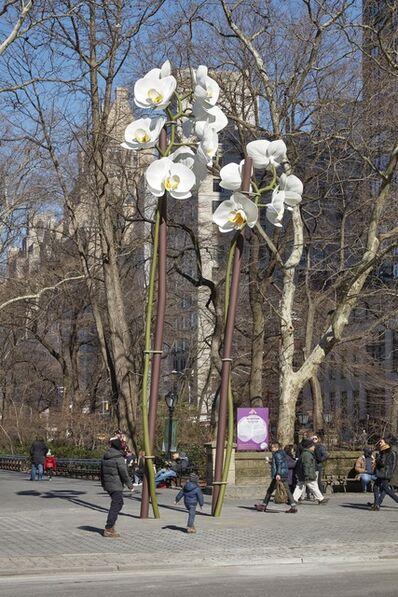 Isa Genzken, 'Two Orchids', 2015