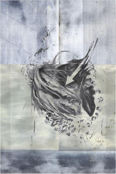 Muriel Hasbun, 'Pulse: Corazón - Azul (Homage, Luis Lazo + Johnny Friedlaender)', 2020