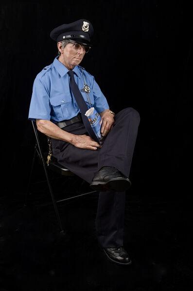 Marc Sijan, 'Seated guard', 2016