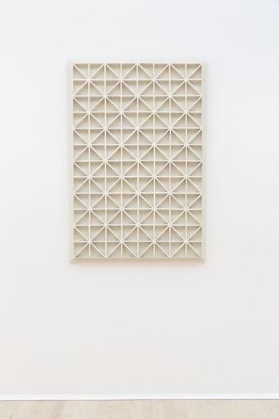 Jan Schoonhoven, 'Diagonalen', 1967