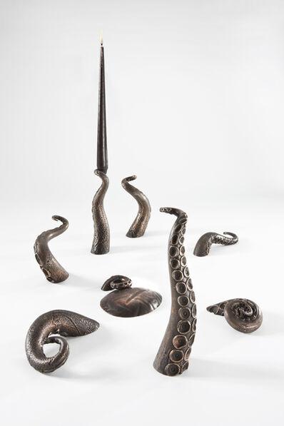 David Bielander, 'Octopus candleholder', 2012
