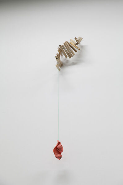 Margrét H. Blöndal, 'Untitled (sticks, nylon string, rubber)', 2010